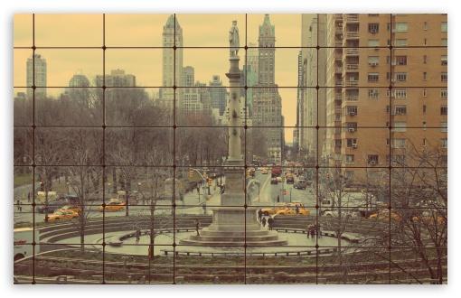 Download Columbus Circle UltraHD Wallpaper