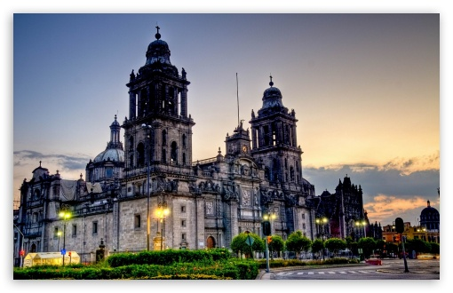 Download Mexico City Cathedral UltraHD Wallpaper