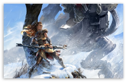 Download Horizon Dawn UltraHD Wallpaper