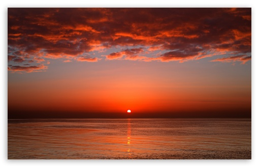 Download Bloody Sunset UltraHD Wallpaper