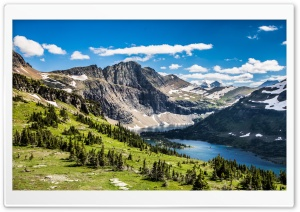 Hidden Lake Glacier National...