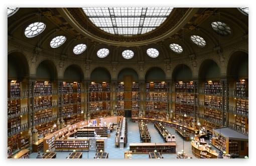 Download Bibliotheque Nationale de France UltraHD Wallpaper