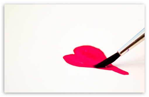 Download Love For Paint UltraHD Wallpaper