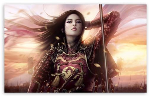 Download Oriental Warrior UltraHD Wallpaper