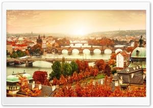 Prague Bridges, Autumn