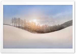 Winter, Snow, Hills,...