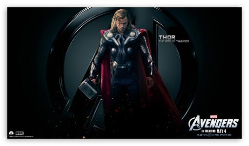 Download The Avengers Thor UltraHD Wallpaper