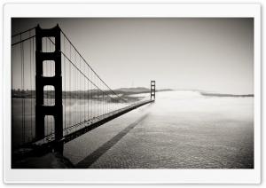 Golden Gate Bridge Black And...