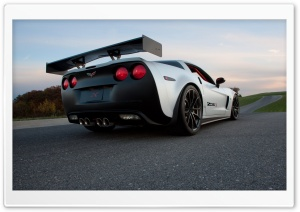 Chevrolet Corvette Z06X Rear
