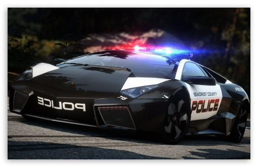 Download Need For Speed Hot Pursuit Lamborghini Police... UltraHD Wallpaper