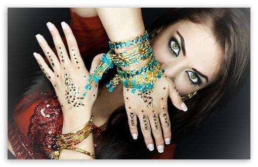 Download Indian Makeup UltraHD Wallpaper