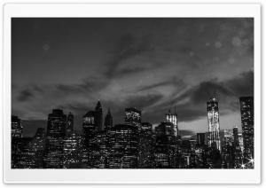 New York City Black And White...