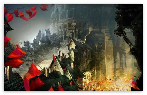 Download Castle UltraHD Wallpaper