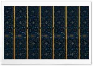 RAM Memory Chip Tilt-Shift