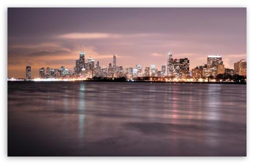 Download Chicago Skyline UltraHD Wallpaper