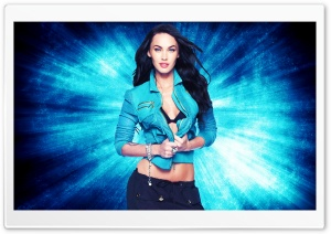 Megan Fox Blue