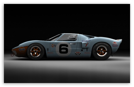 Download Ford GT40 Le Mans 1969 UltraHD Wallpaper