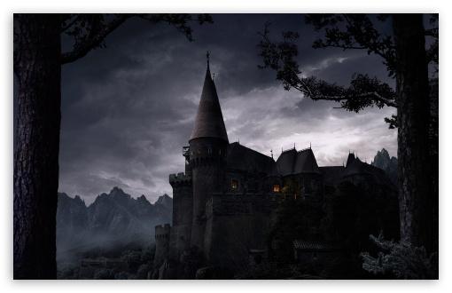 Download Dark Castle UltraHD Wallpaper