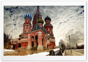 St Basil's Cathedral in...