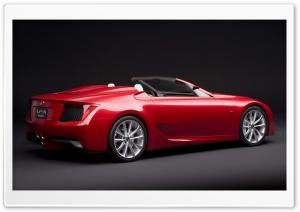 Lexus LF A Roadster Car