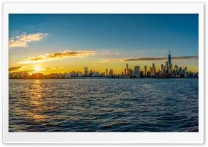 Sunrise, Manhattan, New York...