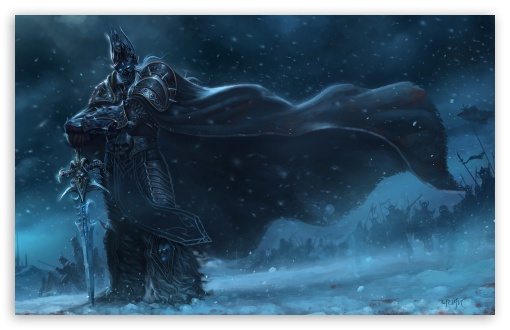 Download Arthas Menethil UltraHD Wallpaper