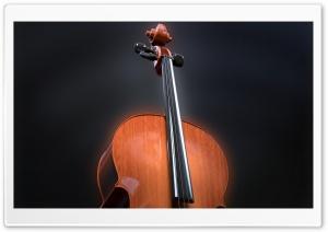 Cello Scroll Pegbox, Neck,...