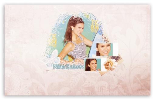 Download Nina Dobrev UltraHD Wallpaper