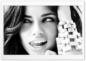 Adriana Lima Black And White