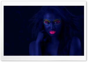 Neon Makeup Black Light