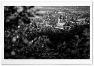 Village Black and White...