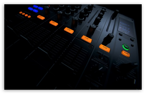 Download DJ Tools UltraHD Wallpaper