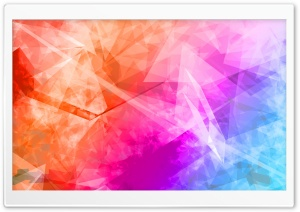 Abstract Polygonal Colorful...