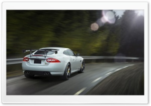 2014 Jaguar XKR S GT Rear