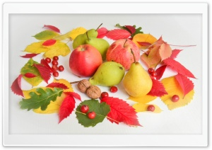 Apples, Pears, Fruits, Autumn...