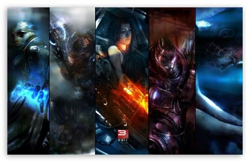 Download Mass Effect UltraHD Wallpaper