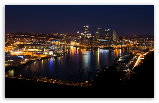 Download Pittsburgh Skyline UltraHD Wallpaper