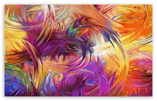 Download Finger Painting Art UltraHD Wallpaper