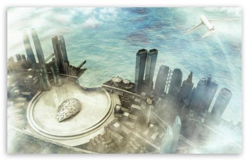 Download 3D City UltraHD Wallpaper