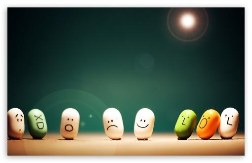Download Happy Pills UltraHD Wallpaper