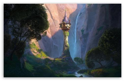 Download Tangled Castle UltraHD Wallpaper