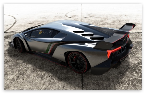 Download 2013 Lamborghini Veneno Top View UltraHD Wallpaper