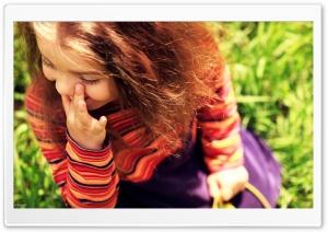 Child Girl Laughing