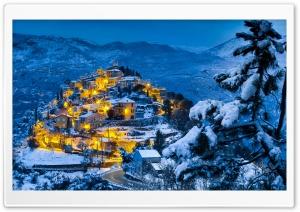 Beautiful Christmas Village