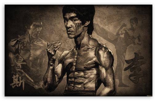 Download Bruce Lee UltraHD Wallpaper