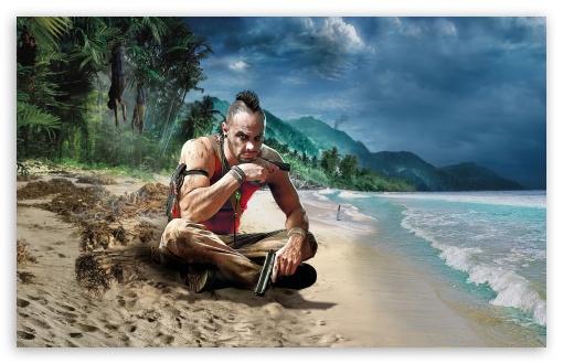Download Far Cry 3 Vaas UltraHD Wallpaper