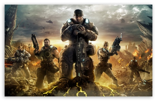 Download Gears Of War 3 UltraHD Wallpaper