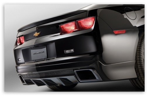 Download Chevrolet Camaro Rear UltraHD Wallpaper
