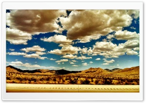 Somewhere Between CA and NV