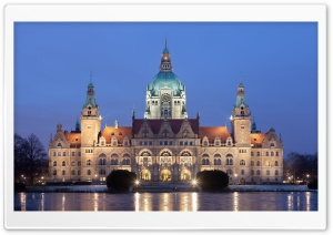 New City Hall in Hanover,...